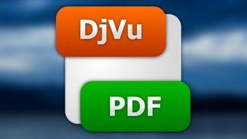 Как из DjVu сделать PDF?