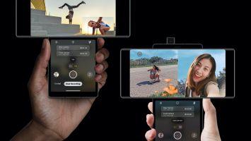 Уникальный смартфон с поворотным дисплеем – это еще не все