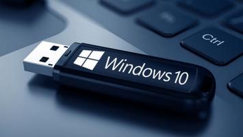 Установка Windows 10 с флешки
