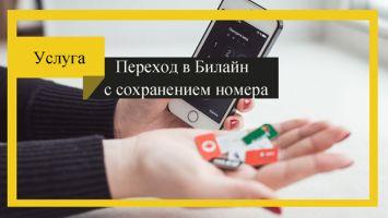 Перейти на Билайн с сохранением номера – условия и инструкция