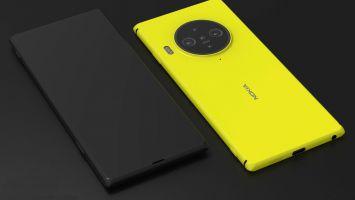 Появились первые фото Nokia 9.3 PureView с подэкранной камерой