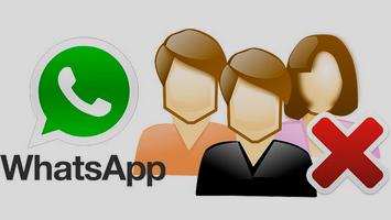 Как покинуть группу в WhatsApp и удалить её?