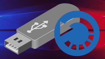 Восстановление Windows 10 с флешки и оптического диска