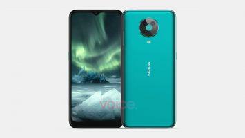 Nokia 6.4 показан на рендерах: можно оценить дизайн