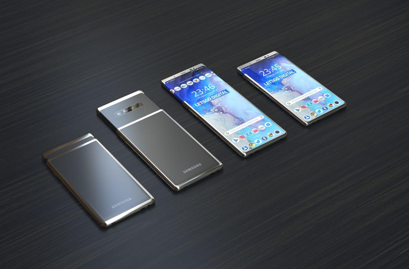 Смартфон с растягиваемым дисплеем Samsung
