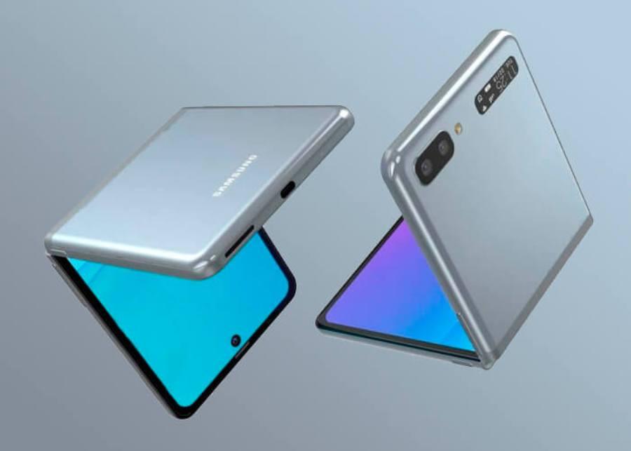 Внешний вид Samsung Galaxy Z Flip