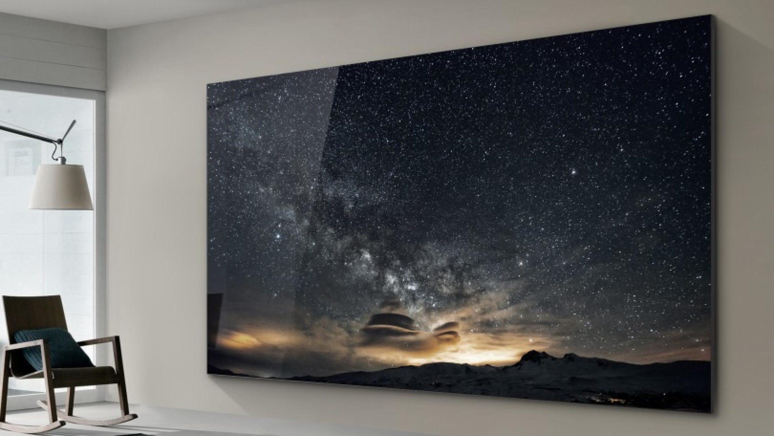 Внешний вид беспроводного телевизора Samsung
