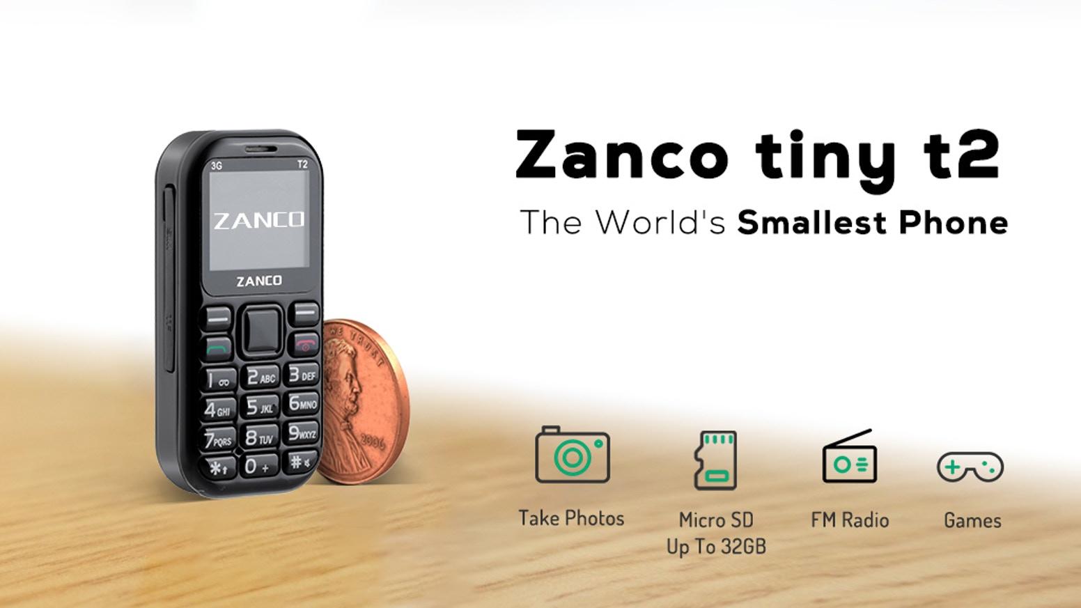 Характеристики Zanco Tiny T2