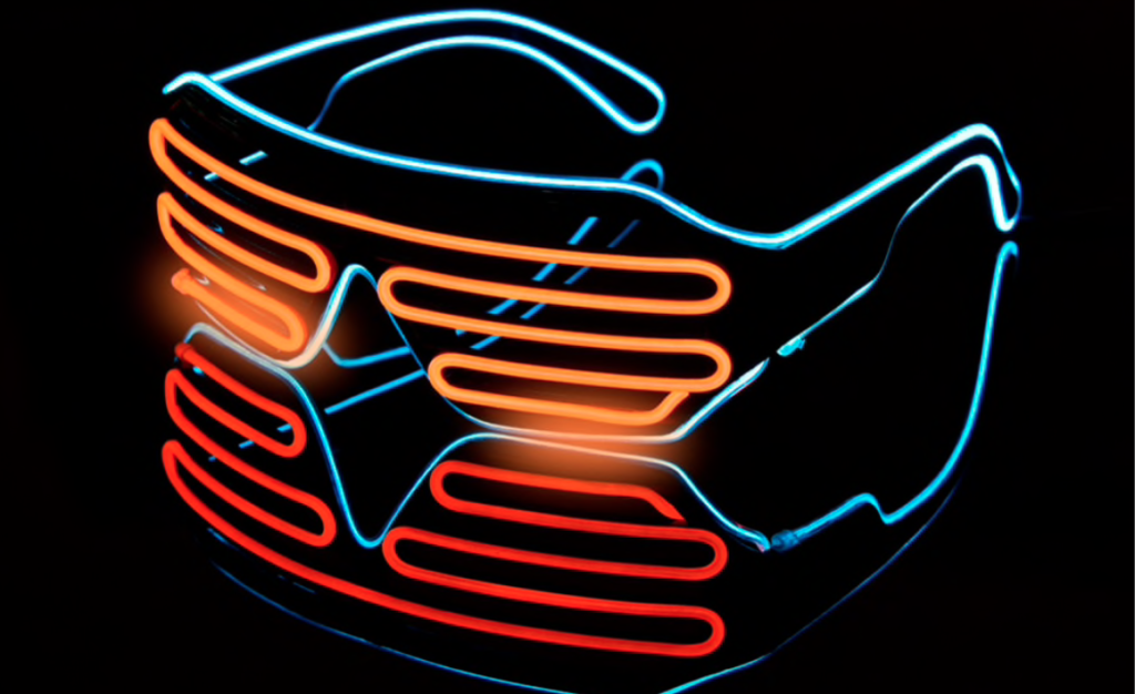 Светодиодные очки TOPATY
