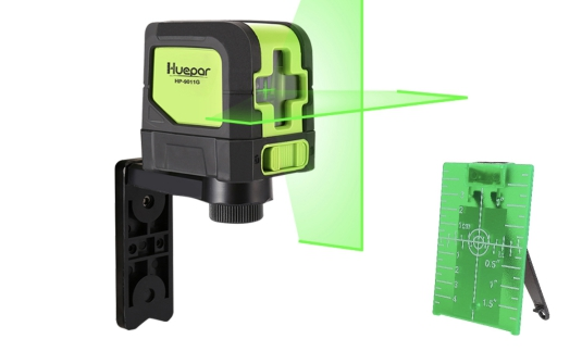 Huepar Green or Red Laser level