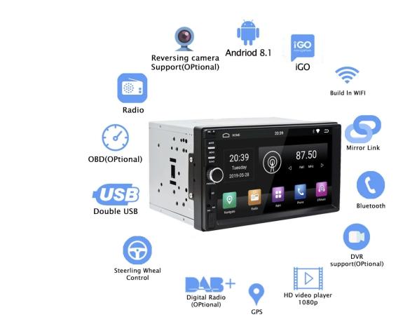 Rhythm Android 9.0 car radio