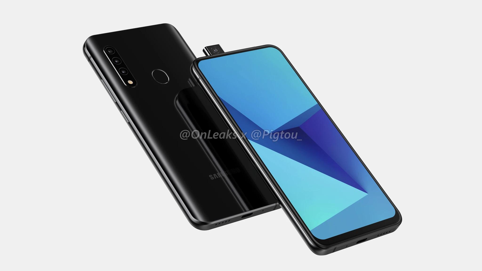 Дизайн нового смартфона от Samsung