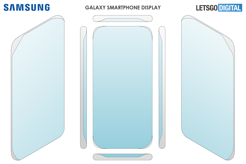 Патент на телефон Samsung