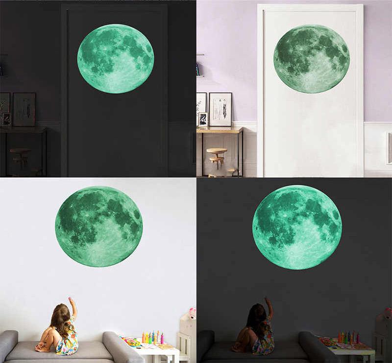 Светящаяся Луна 3D HonC
