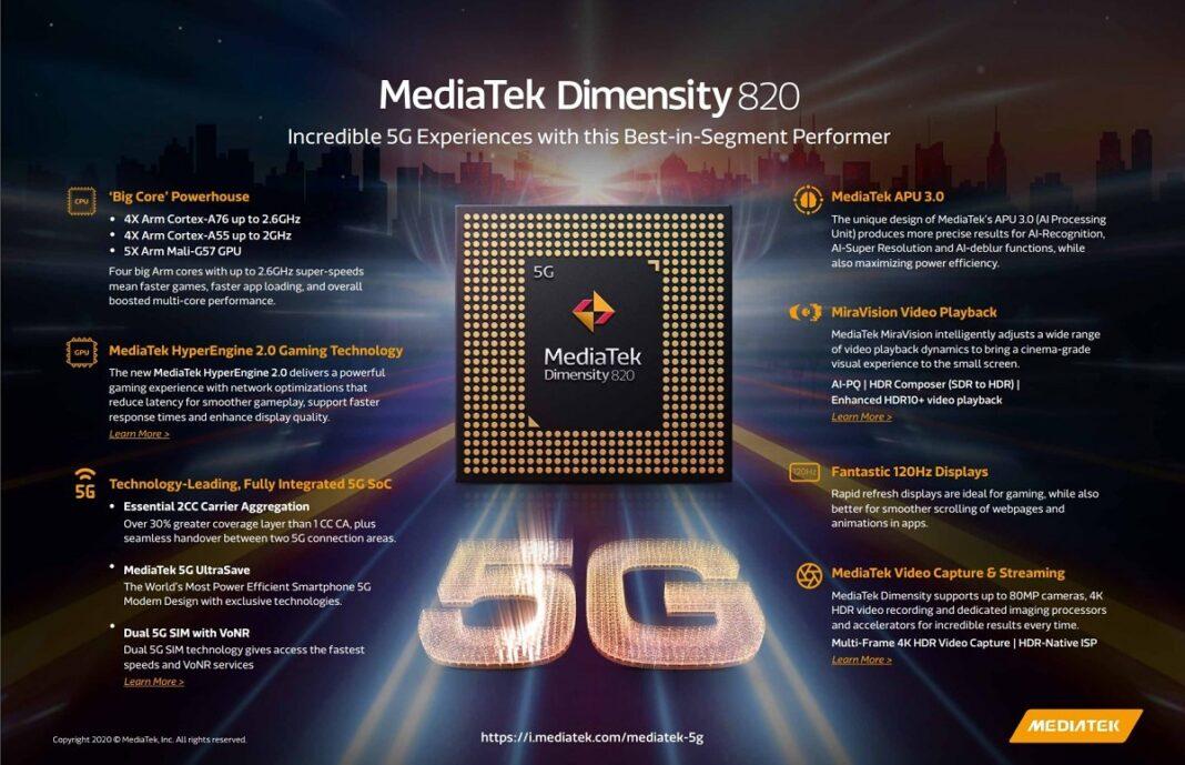 Новый чип от MediaTek