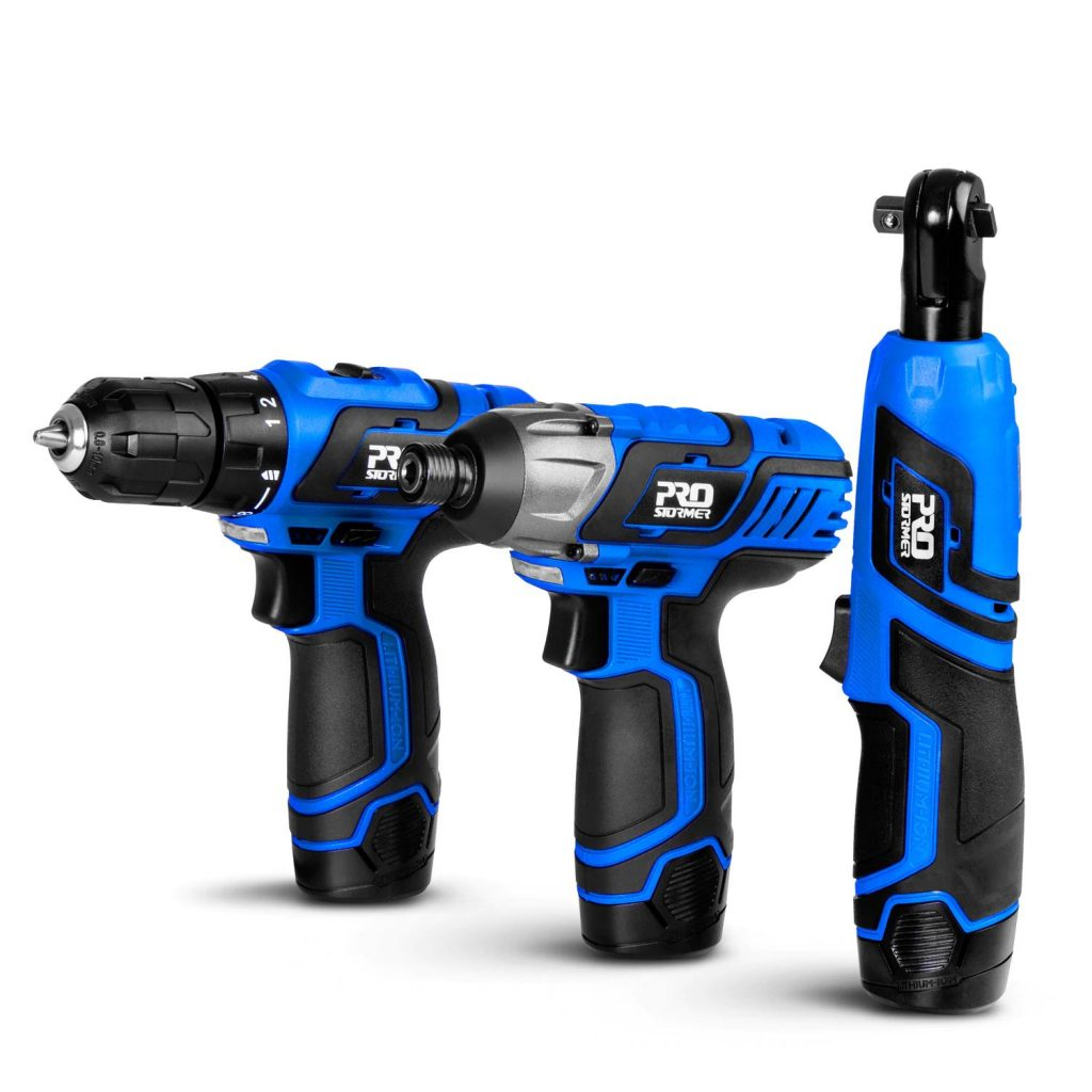 Prostormer 12V electric wrench drill