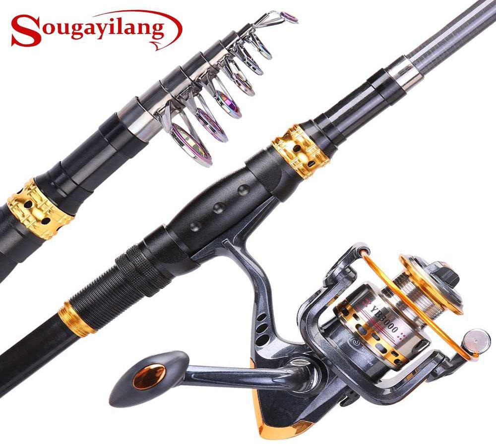 Sougayilang Fishing Rod Combo