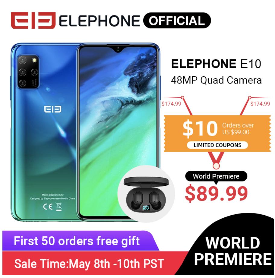 Характеристики Elephone E10
