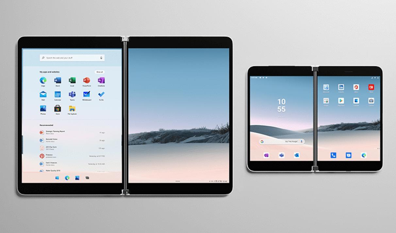 Внешний вид Microsoft Surface Duo