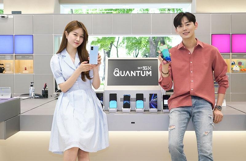 Презентация Samsung Galaxy A Quantum