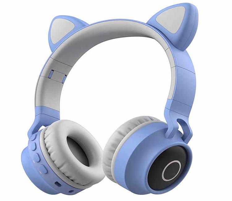 GTIPPOR LED Light Cat Headset