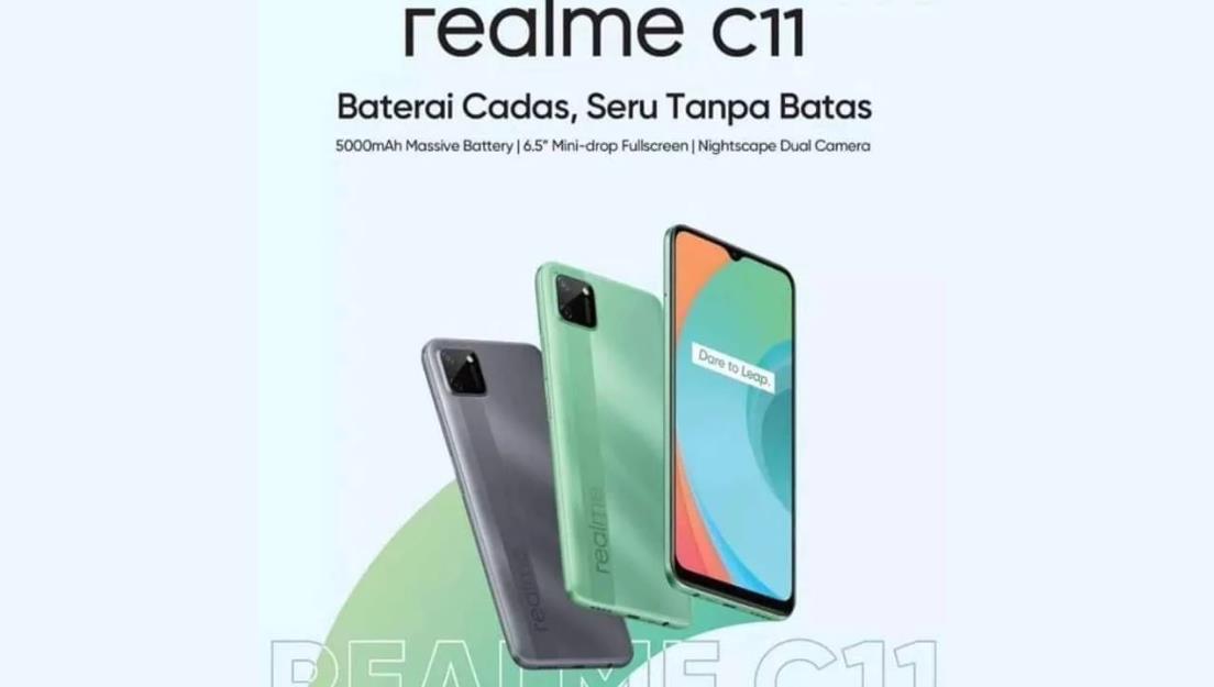 Внешний вид Realme C11