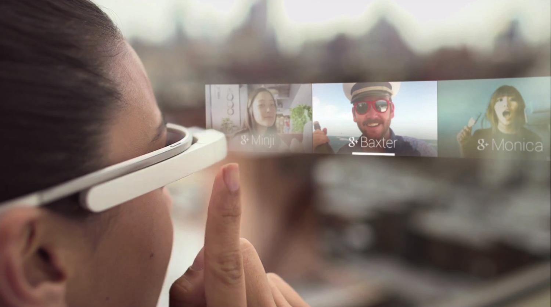 Вид через Google Glass