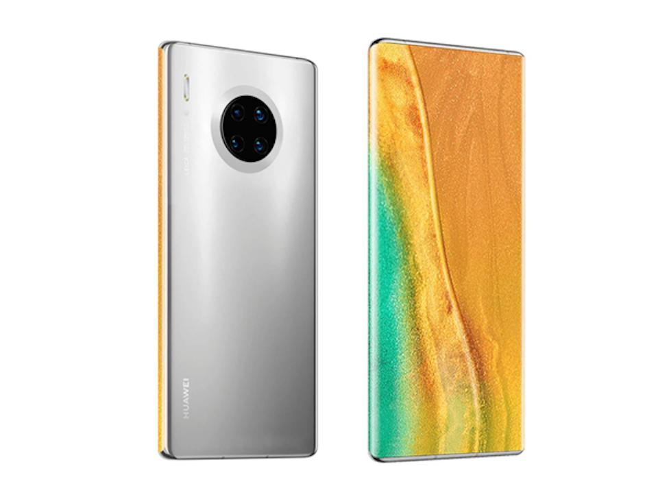 Дизайн Huawei Mate 40