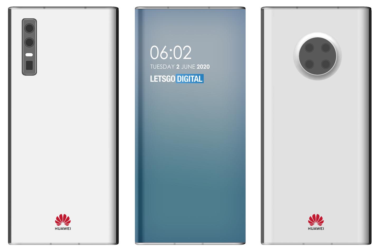 Дизайн новой модели смартфона Huawei