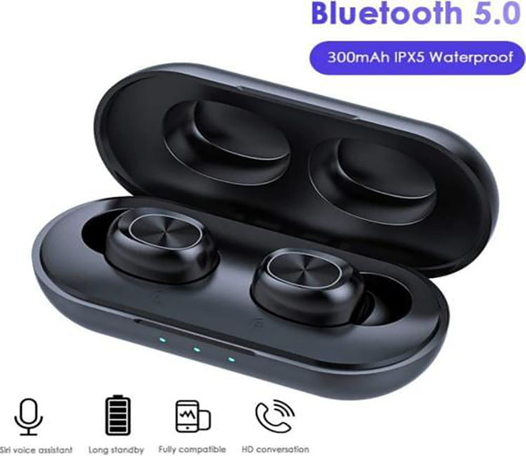 Kanen TWS Bluetooth 5.0 Earphones Wireless Headset