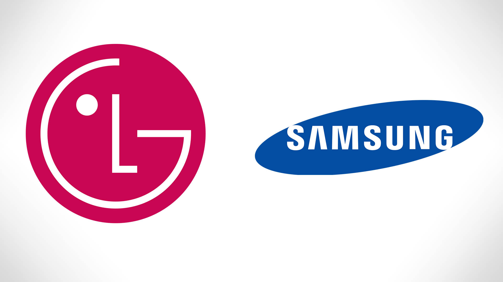 Логотипы LG и Samsung