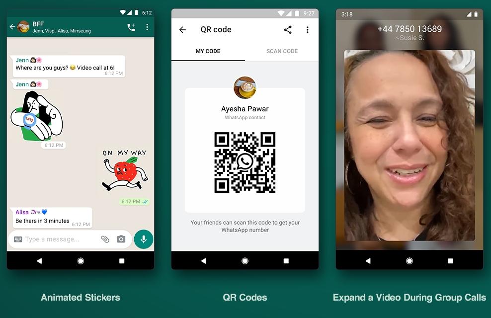 Обновление WhatsApp