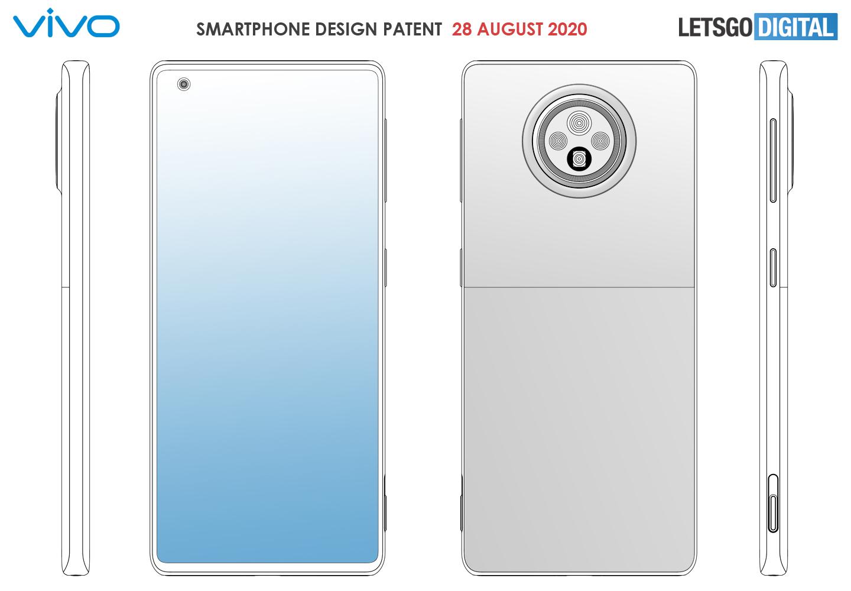 Рендеры нового смартфона от Vivo