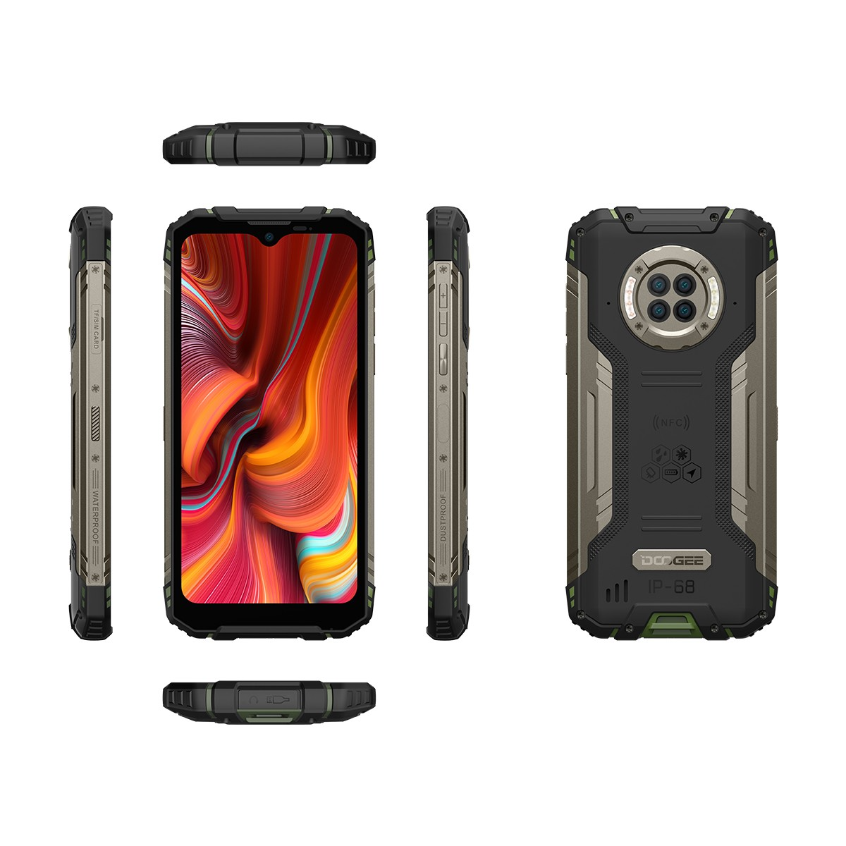 Дизайн Doogee S96 Pro