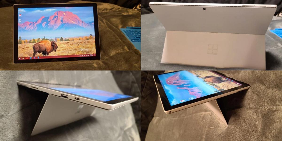 Microsoft Surface Pro 8 в разных ракурсах