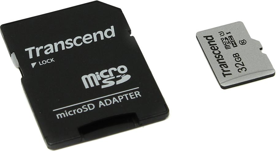 Transcend microSDHC 300S Class 10