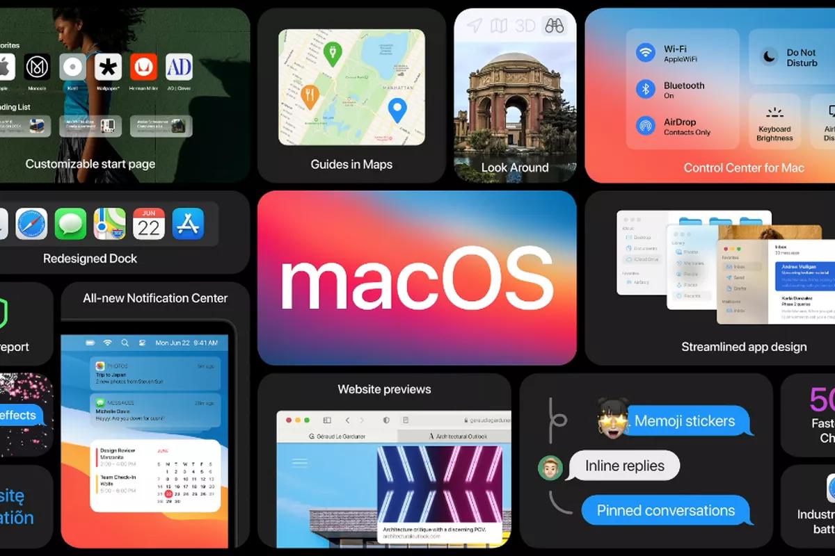 Новая ОС macOS Big Sur