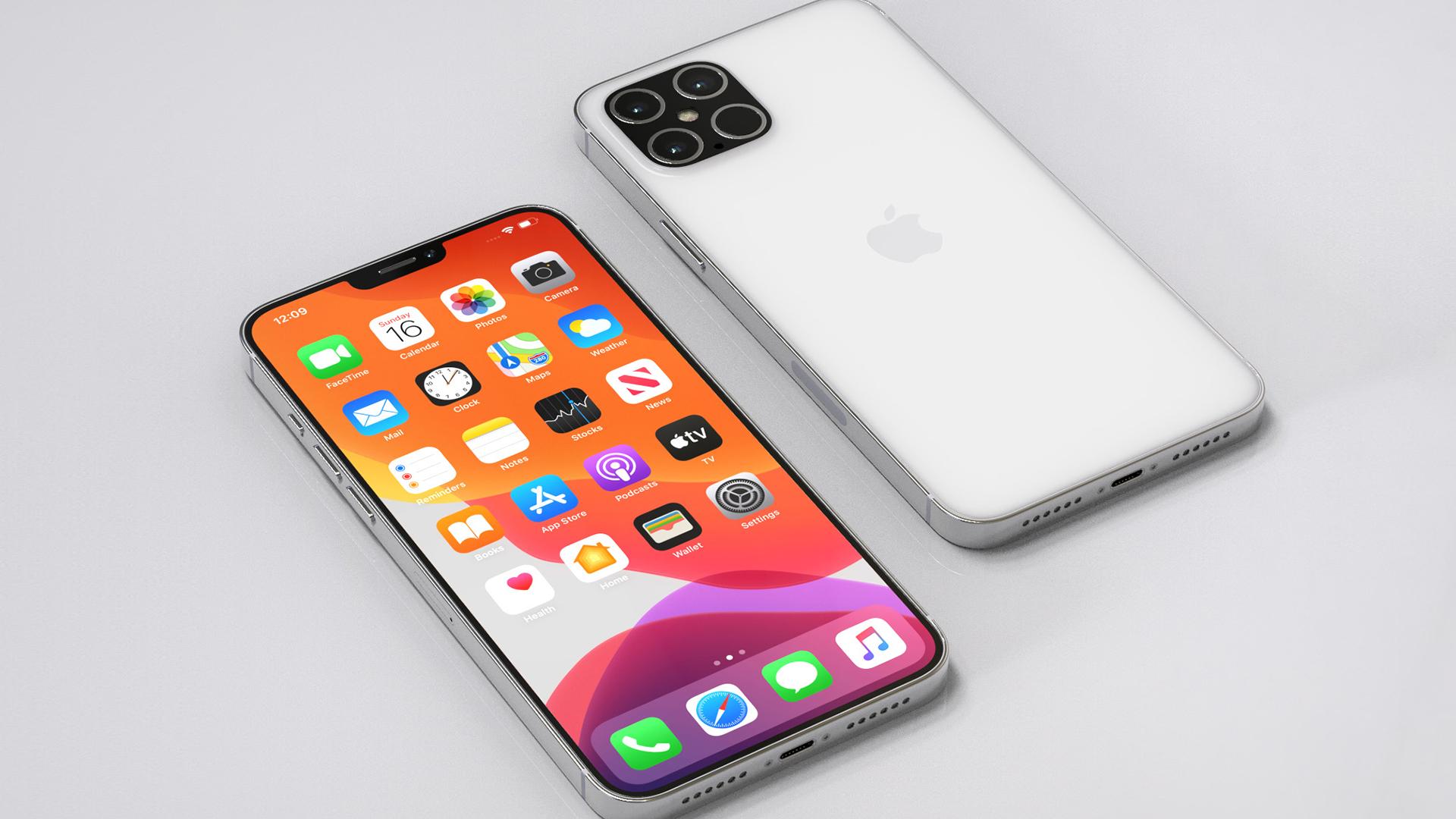 Предполагаемый дизайн iPhone 12s