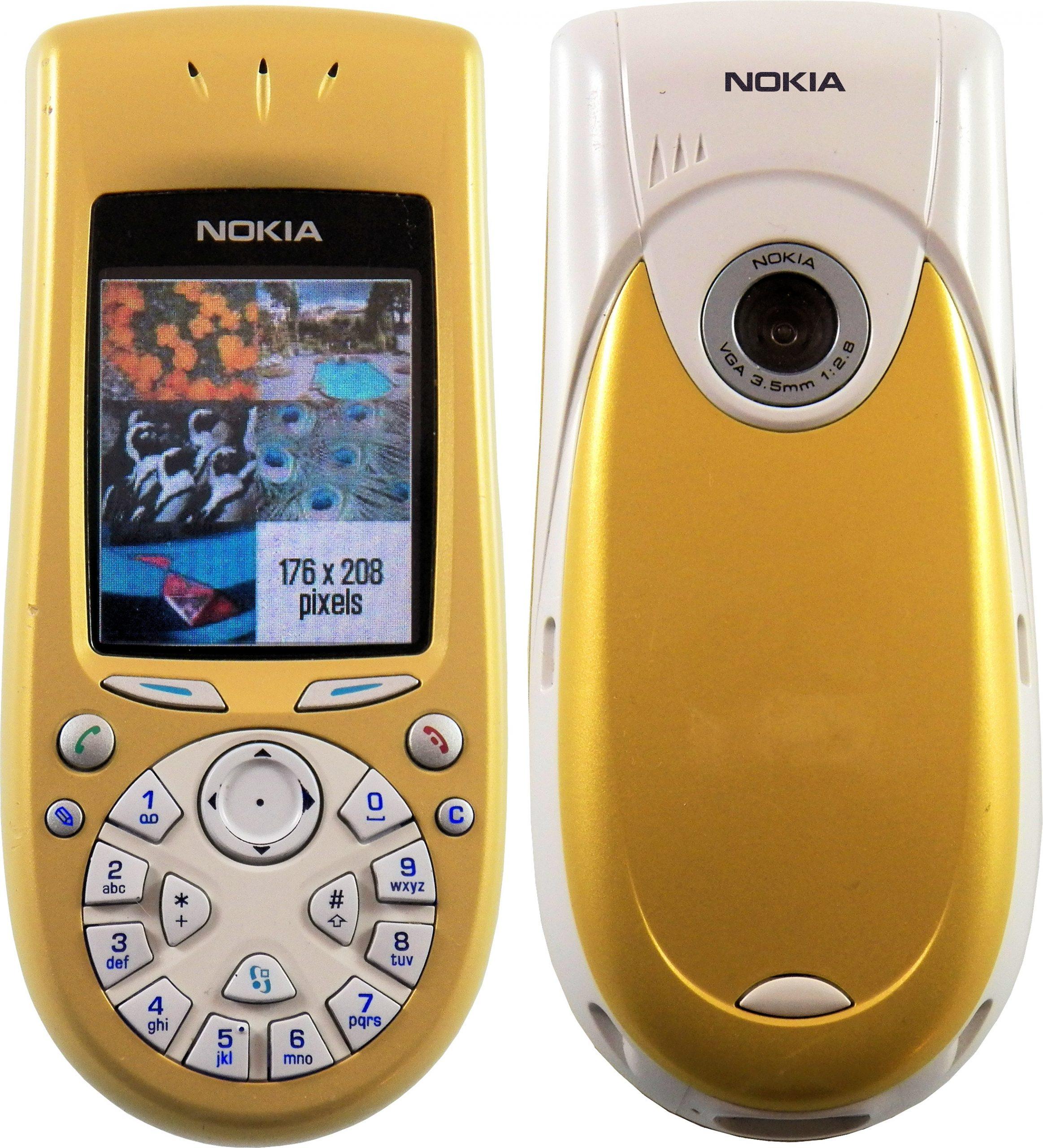 Передняя и задняя панель Nokia 3650