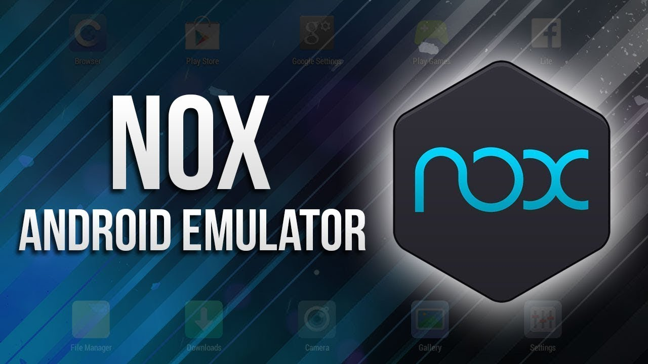 Android эмулятор NoxPlayer