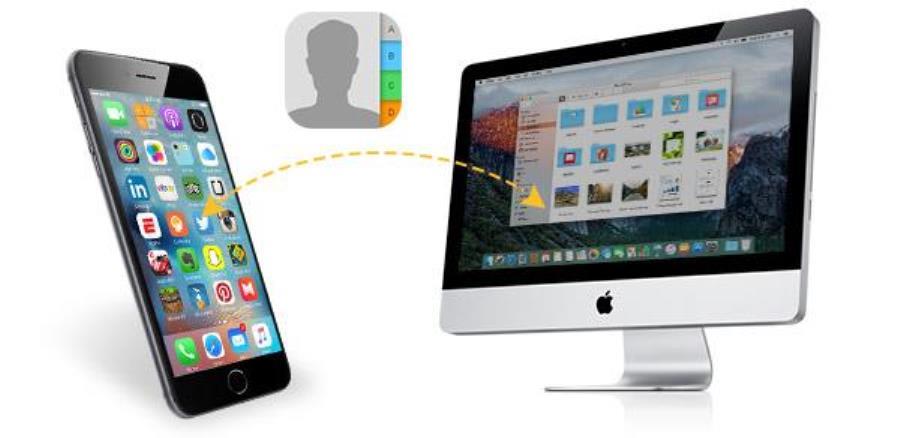 синхронизация mac и iphone